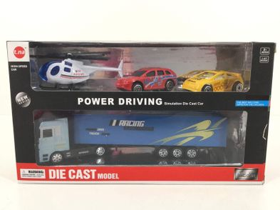 vehiculo juguete die cast power driving