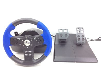 volante ps2 logitech driving force ex