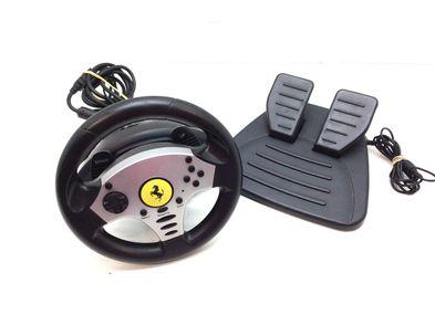 volante ps2 thrustmaster challenge 5-in-1 racing wheel