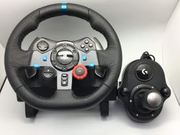 volante ps4 logitech g29 + driving force shifter