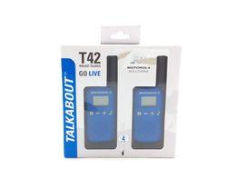 walkie talkie motorola t42